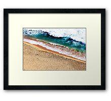 Sandy Shore Framed Print