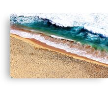 Sandy Shore Canvas Print