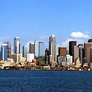 Seattle Skyline Ten by Rick Lawler