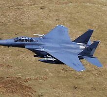 U.S. Air Force F15 Eagle by Richard Hanley www.scotland-postcards.com