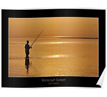Watergat Sunset Poster