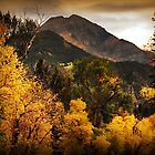 Mount Timpanogos from Road to Tibble Fork by Ryan Houston