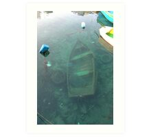 Sunken  Treasure ? Art Print