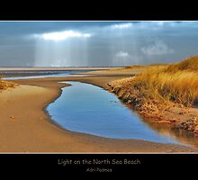 Light on the North Sea Beach by Adri  Padmos