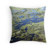 The heart of the delta Throw Pillow