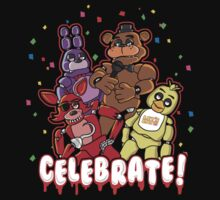 Five Nights At Freddy's Celebrate! One Piece - Short Sleeve