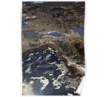 Advancing floodwaters in the Okavango Poster