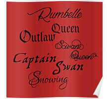 OUAT Couples Poster