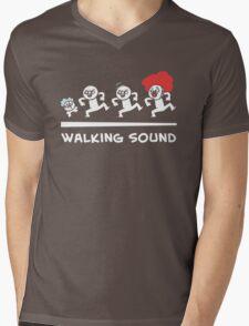 Walking sound Mens V-Neck T-Shirt