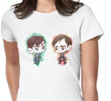 Alec Hardy and Emmett Carver - Grumpy detectives Womens Fitted T-Shirt