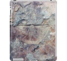 Brachiopod fossil from Usk, Monmouthshire iPad Case/Skin