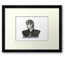 Skywalker - Aurebesh  Framed Print