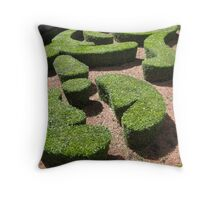 Garden Whimsey Paris Throw Pillow