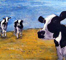 Cow World by CindyLynnArt
