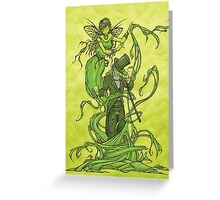 The Absinthe Drinker Greeting Card