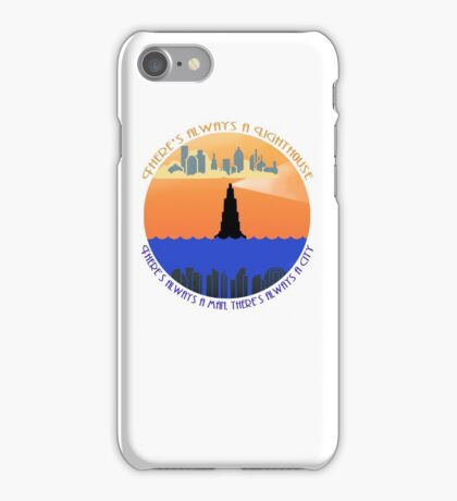 There's always a lighthouse... iPhone Case/Skin