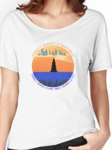 There's always a lighthouse... Women's Relaxed Fit T-Shirt