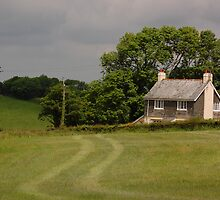 House on a hill by laurac