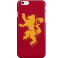 House of Lannister - Game of thrones iPhone Case/Skin