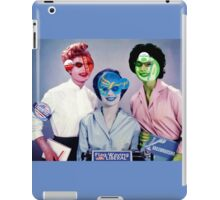 The Election Ticket Team. iPad Case/Skin