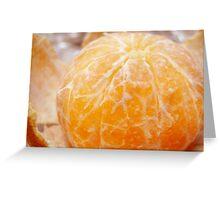 Orange Peeled Greeting Card
