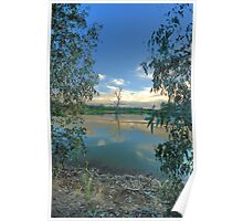 Framed - Wonga Wetlands - The HDR Experience Poster