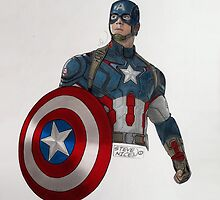 Captain America by Steve Nice