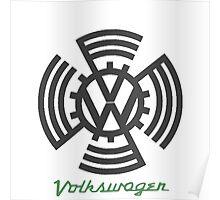 Volkswagen Logo Poster