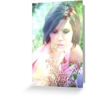 """Romantic 3"" Greeting Card"
