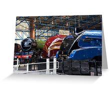 A Railwayman's Dream Greeting Card