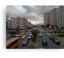 Trafik Canvas Print