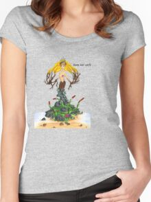 Mother Nature - Keep Her Safe Women's Fitted Scoop T-Shirt
