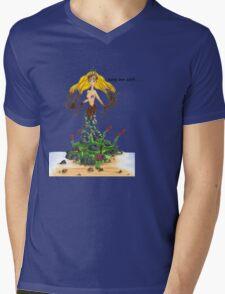 Mother Nature - Keep Her Safe Mens V-Neck T-Shirt