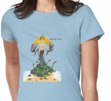 Mother Nature - Keep Her Safe Womens Fitted T-Shirt