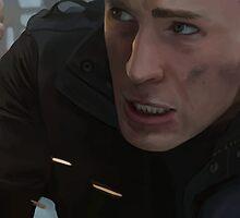 Steve Rogers: The Winter Soldier by Art-Not-Sleep