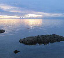 Island Skies by Michael  Metcalfe