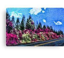 Hawaiian Highway Canvas Print