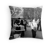 Newtown Market Throw Pillow