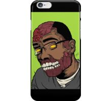 prime time zombie iPhone Case/Skin