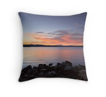 Sunrise over Bruny Island Throw Pillow