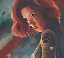 Black Widow by Art-Not-Sleep