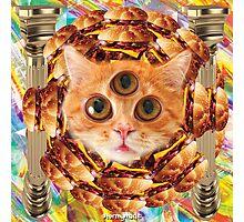 THIRD EYE CAT 2 Photographic Print
