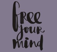 Free Your Mind BW Kids Clothes