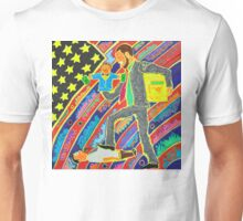 The Man Stepping On The Little Guy Unisex T-Shirt
