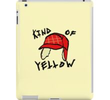 Kind of Yellow iPad Case/Skin