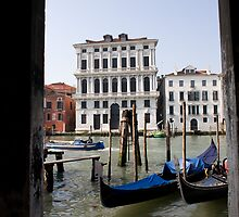 The Grand Canal of Venice by John Bergman