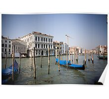 Grand Canale in Venice Poster