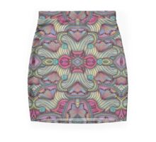 Gates of the Nereids Pattern Pencil Skirt