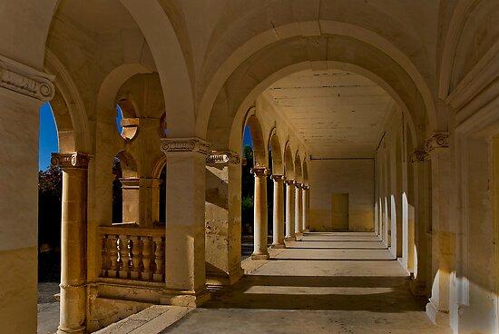 Colonial Portal Mtarfa Primary School Malta by Edwin  Catania