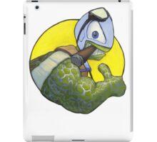 The Silver Turtle iPad Case/Skin